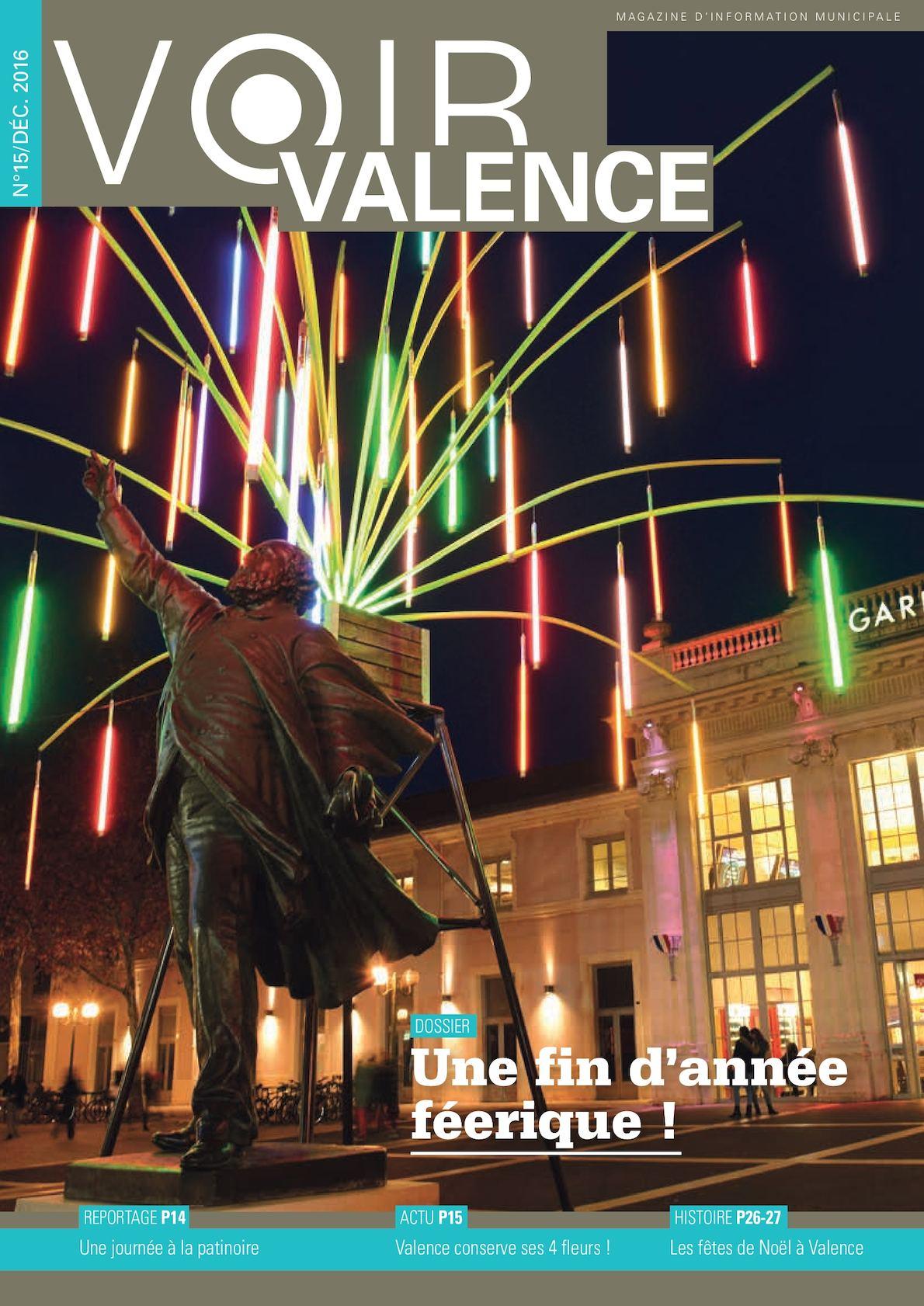 Calaméo - Voir Valence N15 Déc 2016 pour Piscine Plein Ciel Valence