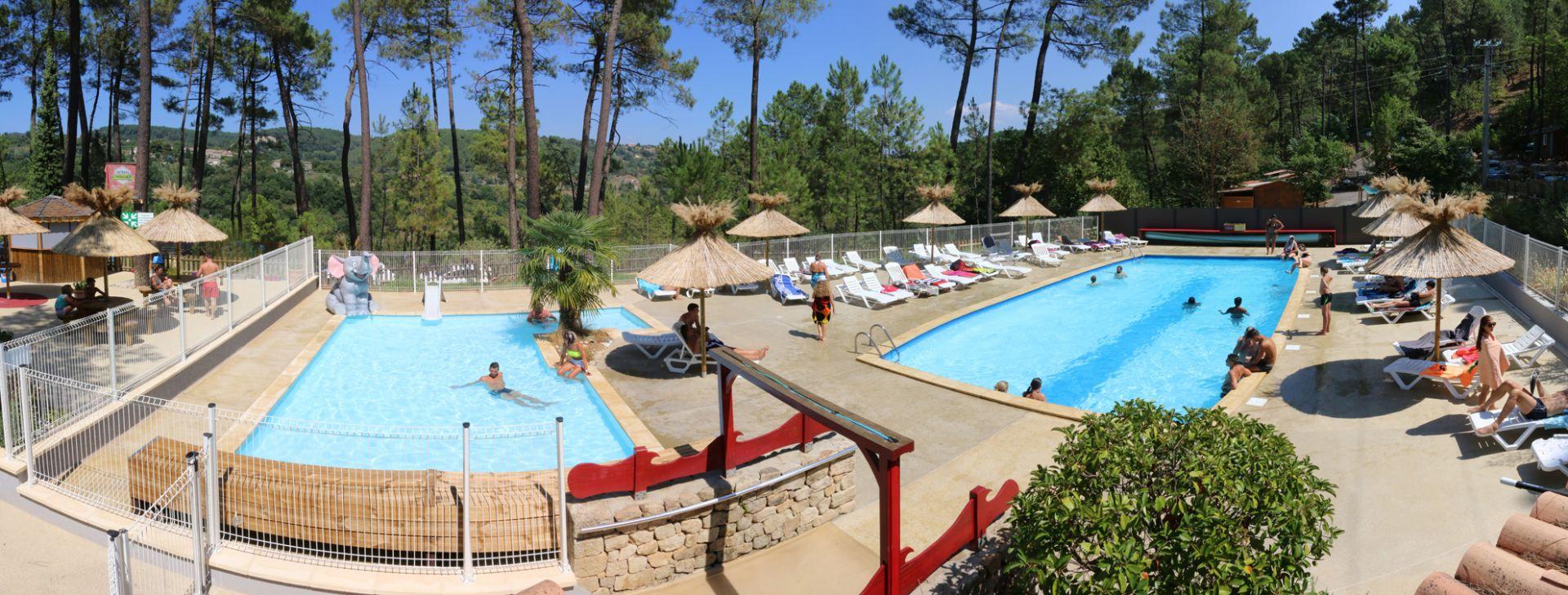 Camping 4 Etoiles Avec Piscine Chauffée Et Animations En Sud ... avec Camping Ardèche Avec Piscine