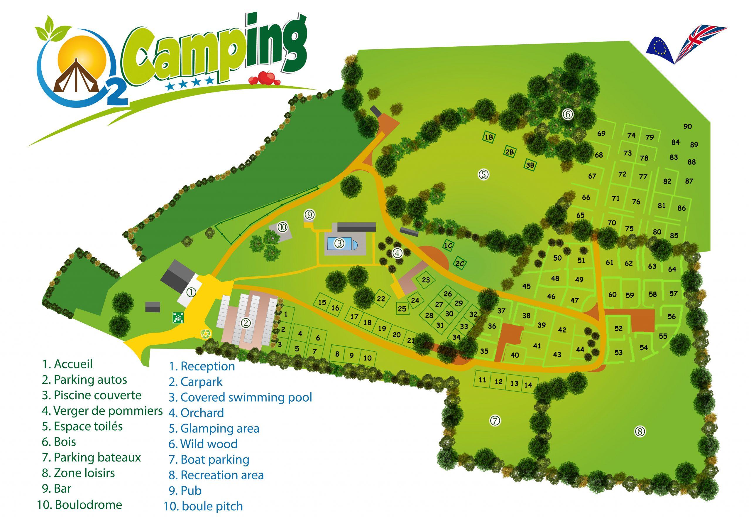 Camping 4 Étoiles Granville – Camping Piscine Côte Normandie tout Piscine La Bretonnière