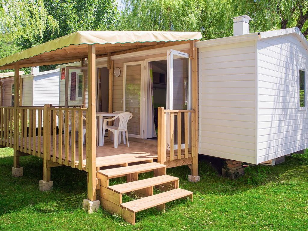 Camping Abesses - Saint-Paul-Lès-Dax > Mobil Homes Disponibles. pour Piscine Saint Paul Les Dax
