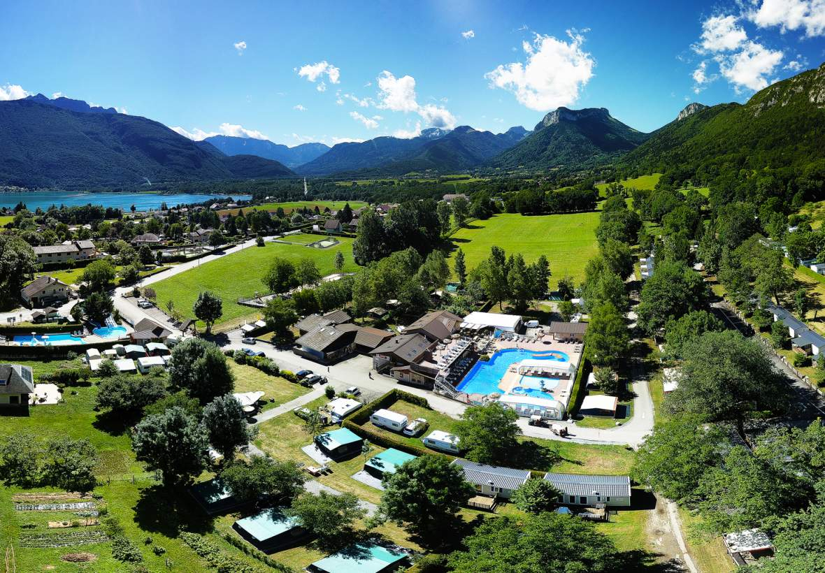 Camping Annecy Bord Du Lac | Camping Lac D'annecy 4 Étoiles encequiconcerne Camping Annecy Avec Piscine