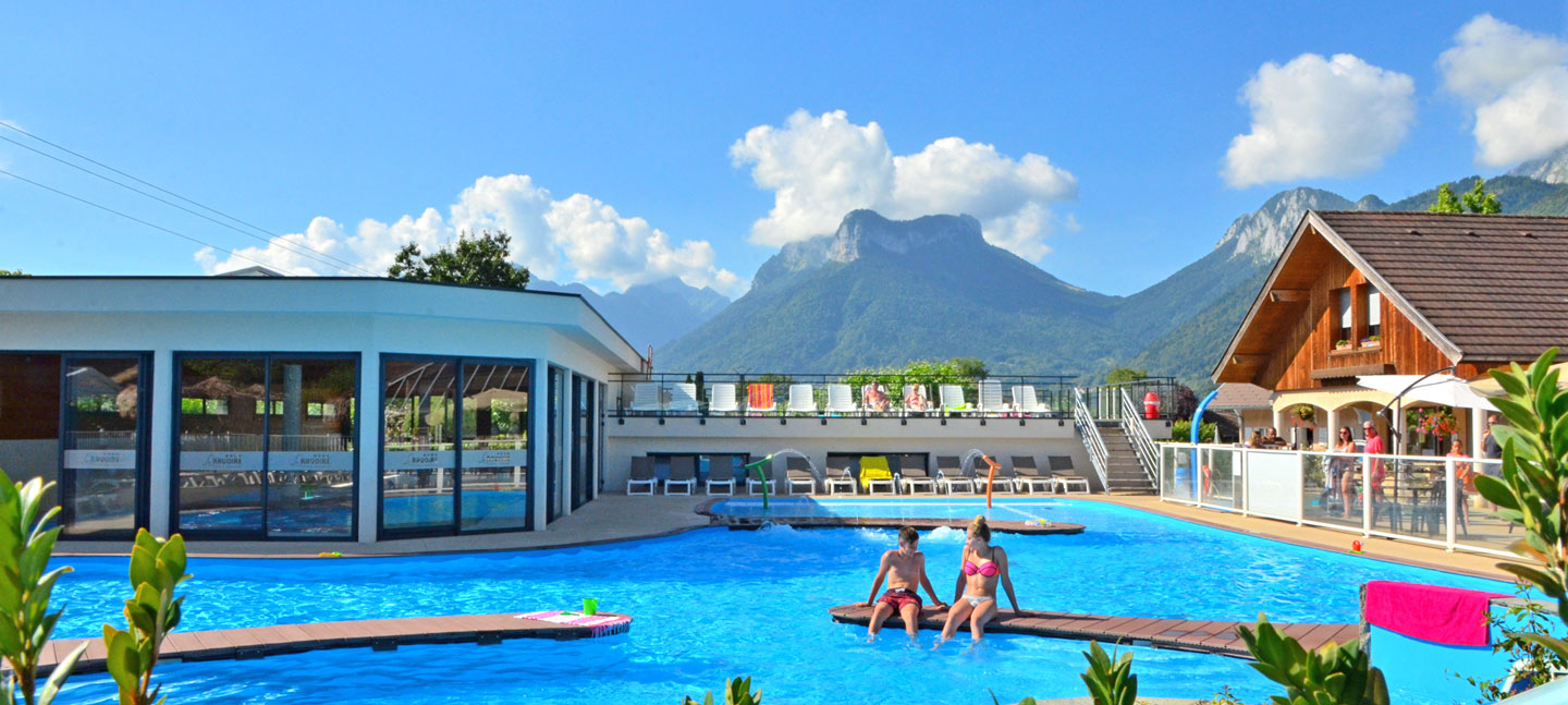 Camping Annecy - Camping 4 Étoiles Lac D'annecy Haute Savoie ... concernant Camping Annecy Piscine