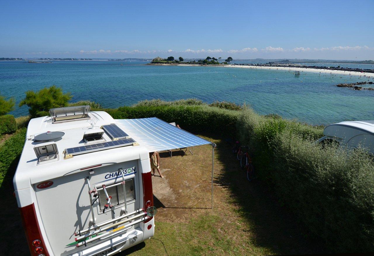 Camping Ar Kleguer - Prices & Campground Reviews (France ... intérieur Piscine Saint Pol Sur Mer