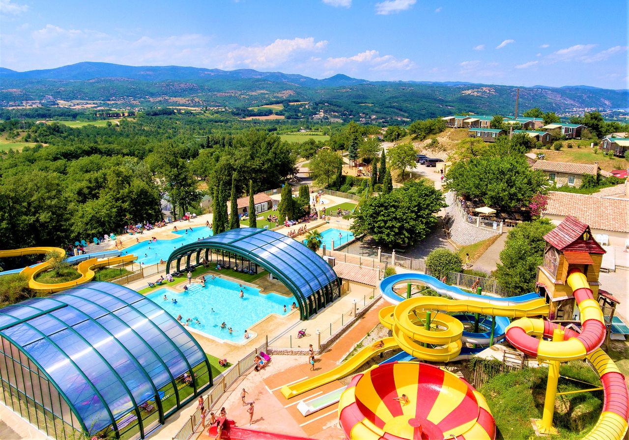 Camping Ardèche , Campings Et Résidences Vacances Capfun encequiconcerne Camping En Ardèche Avec Piscine