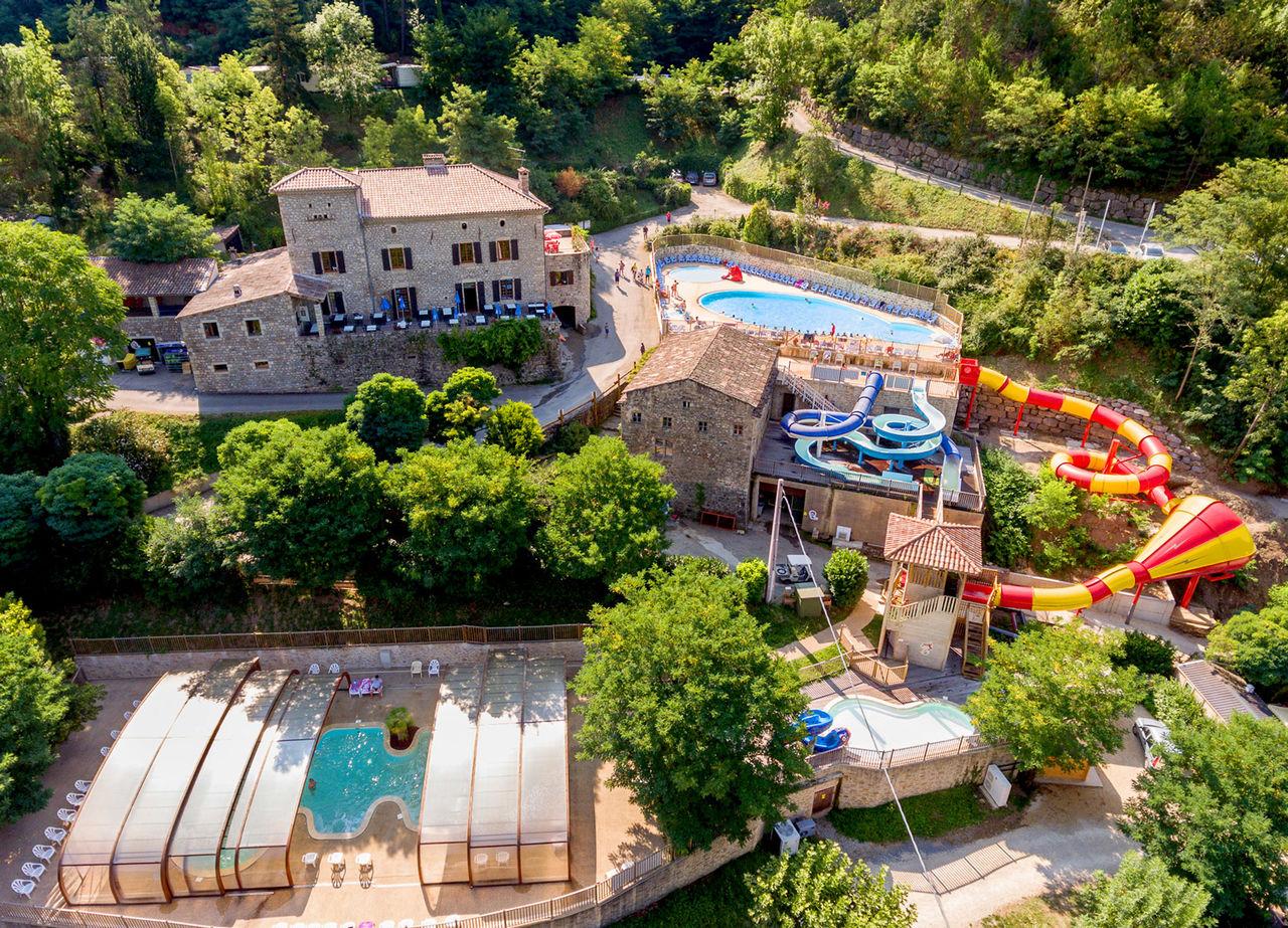 Camping Ardèche , Campings Et Résidences Vacances Capfun intérieur Camping En Ardèche Avec Piscine