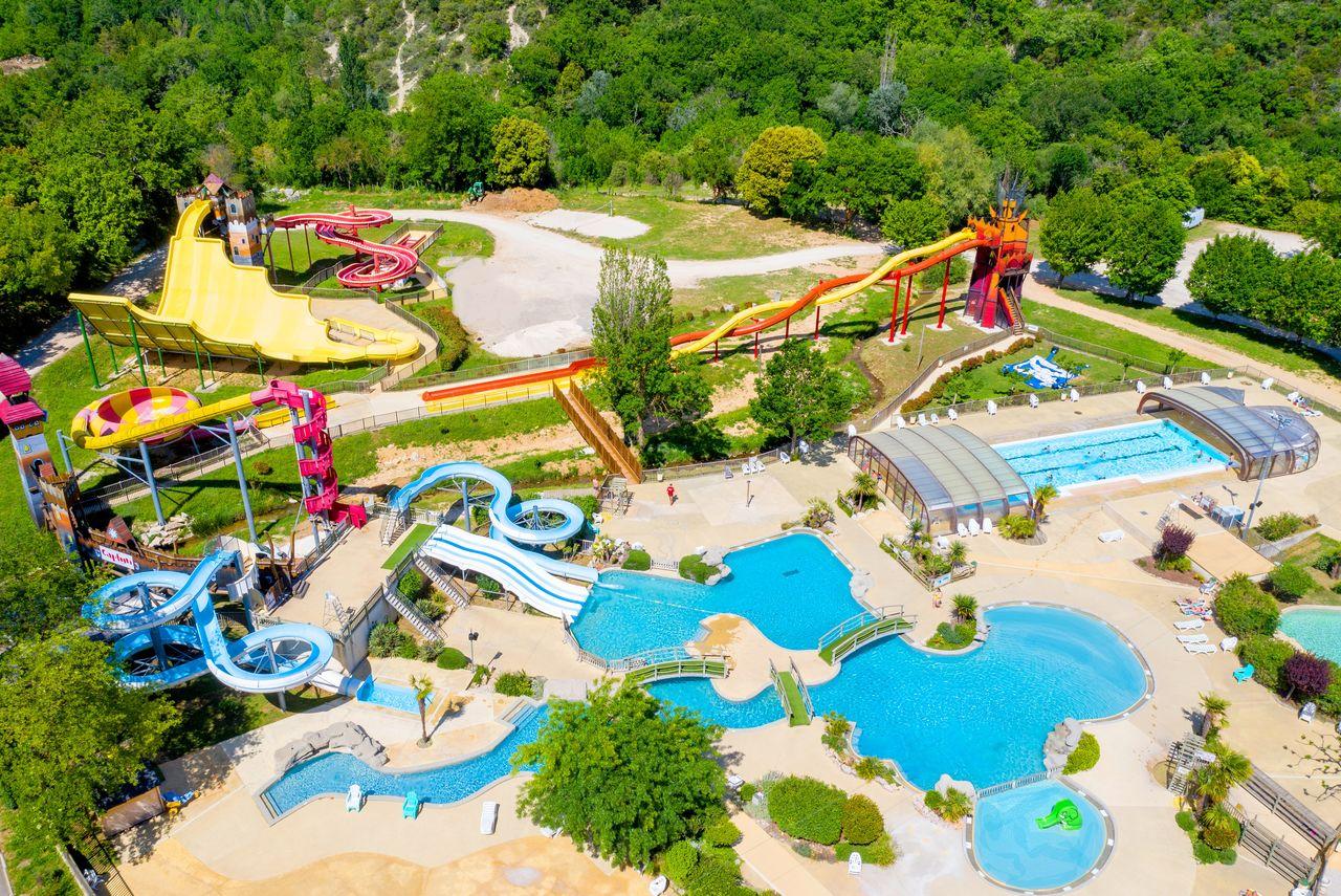 Camping Ardèche , Campings Et Résidences Vacances Capfun tout Camping En Ardèche Avec Piscine