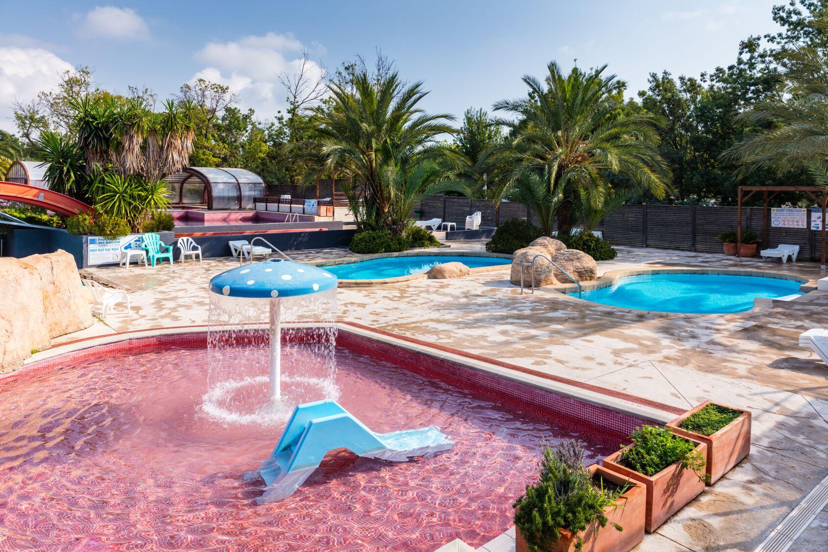 Camping Argelès Sur Mer Avec Piscine Et Parc Aquatique ... à Camping Argeles Sur Mer Avec Piscine