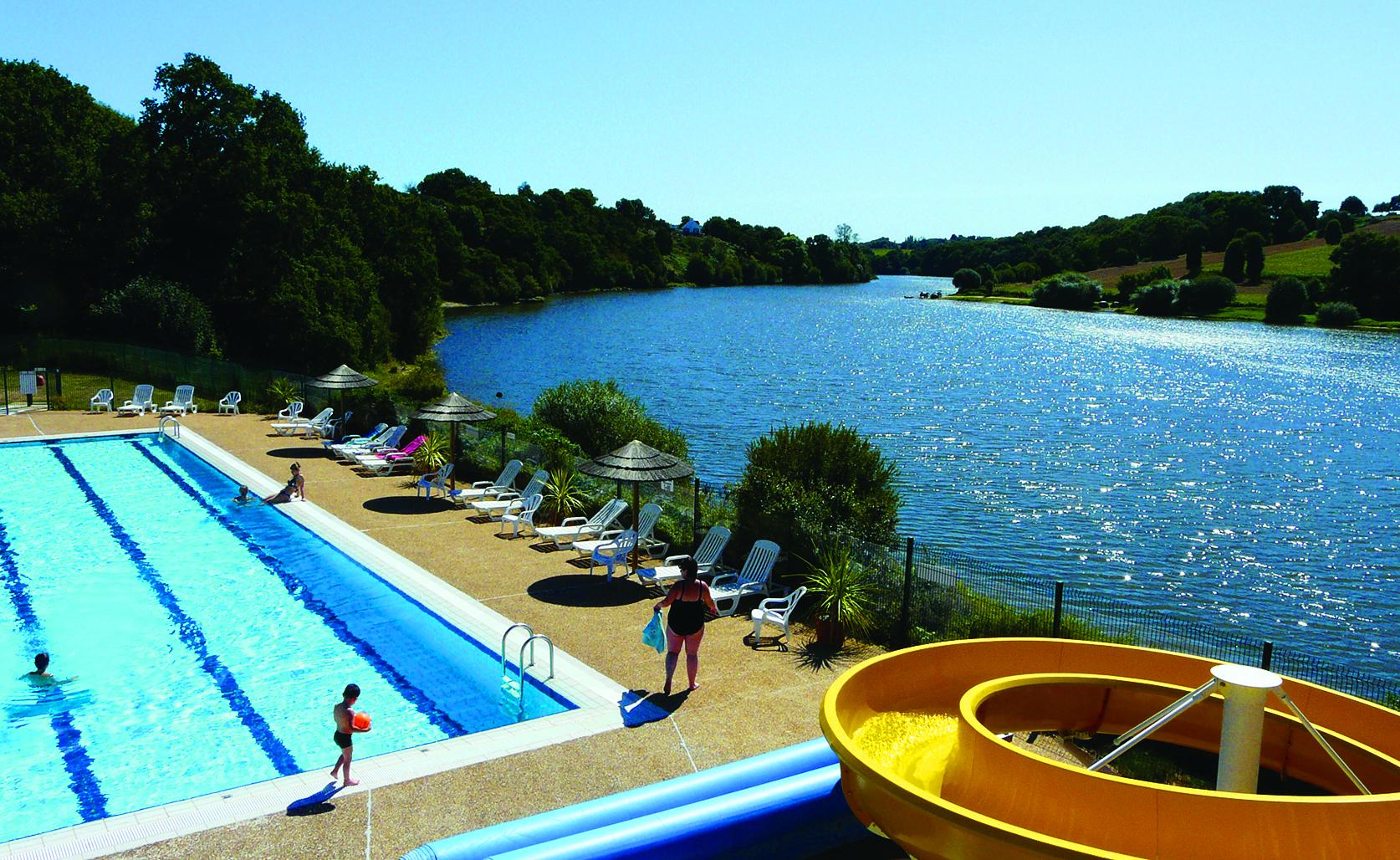 Camping Au Bocage Du Lac - Camping Au Bocage Du Lac **** tout Piscine Jugon Les Lacs