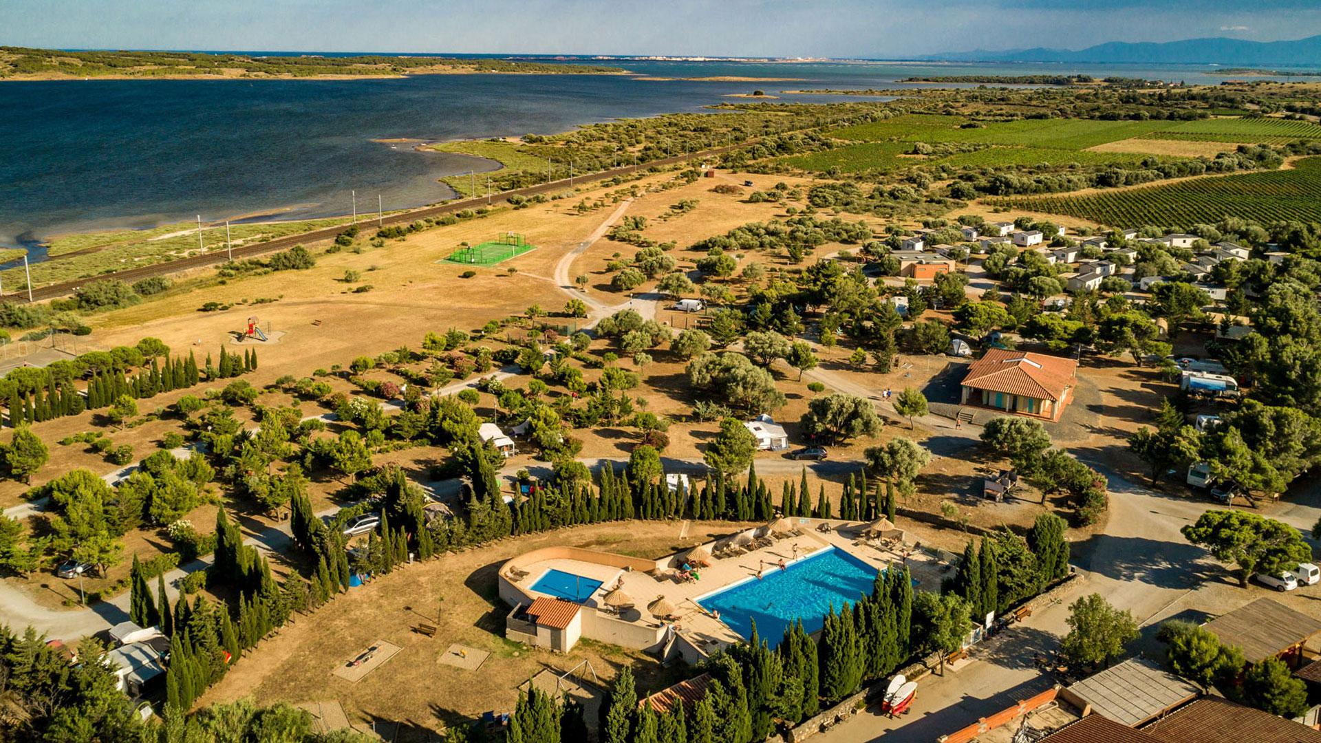 Camping Aude Près De Leucate | Le Fun 3*** Languedoc Roussillon dedans Camping Aude Avec Piscine