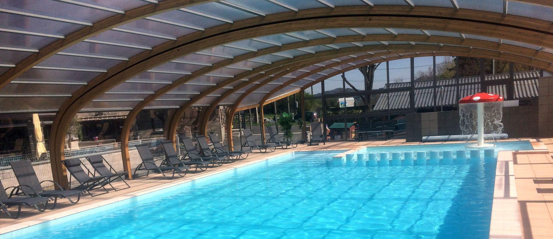 Camping Auvergne - Camping La Cle Des Champs **** - Saint ... pour Camping En Auvergne Avec Piscine