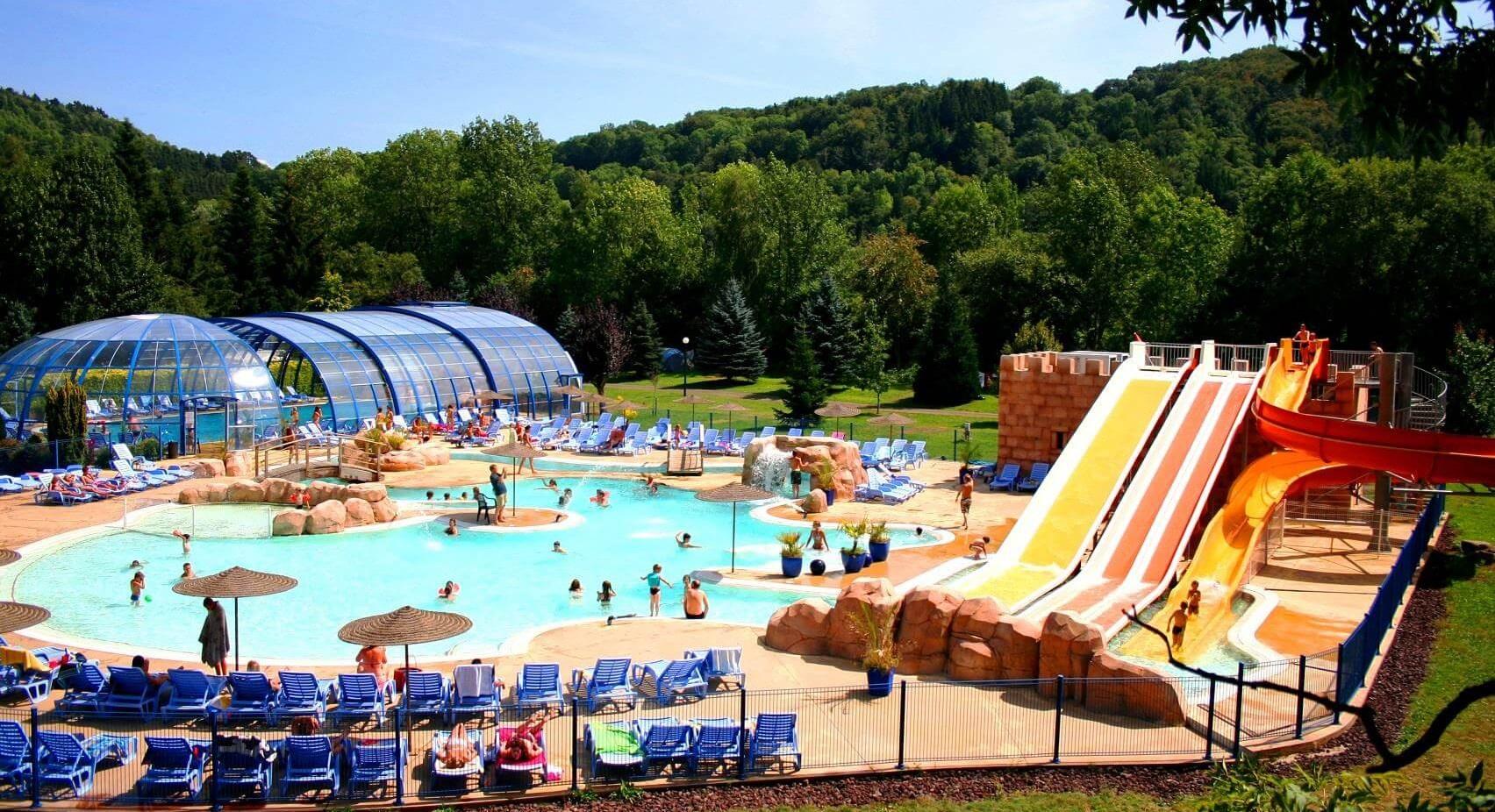Camping Auvergne Parc Aquatique : Réservez Vos Vacances destiné Camping En Auvergne Avec Piscine