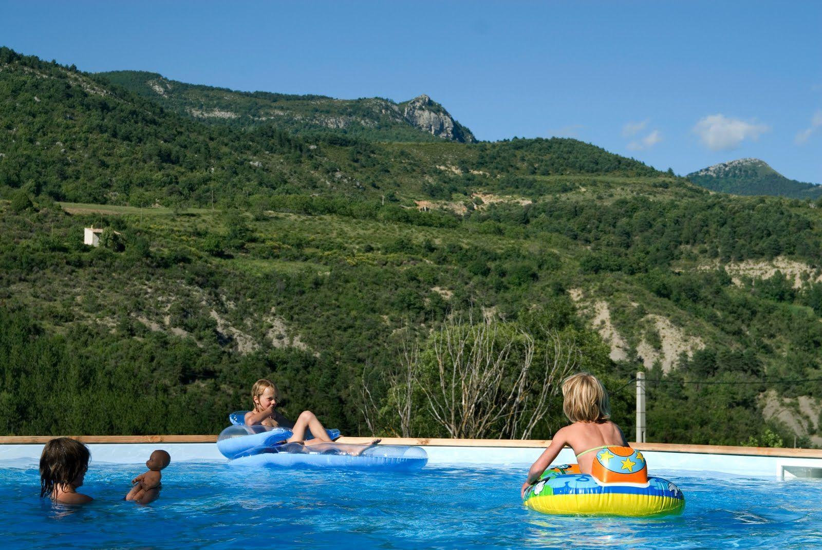 Camping Avec Piscine - Camping Drome Provencale - La Ferme ... intérieur Piscine Drome