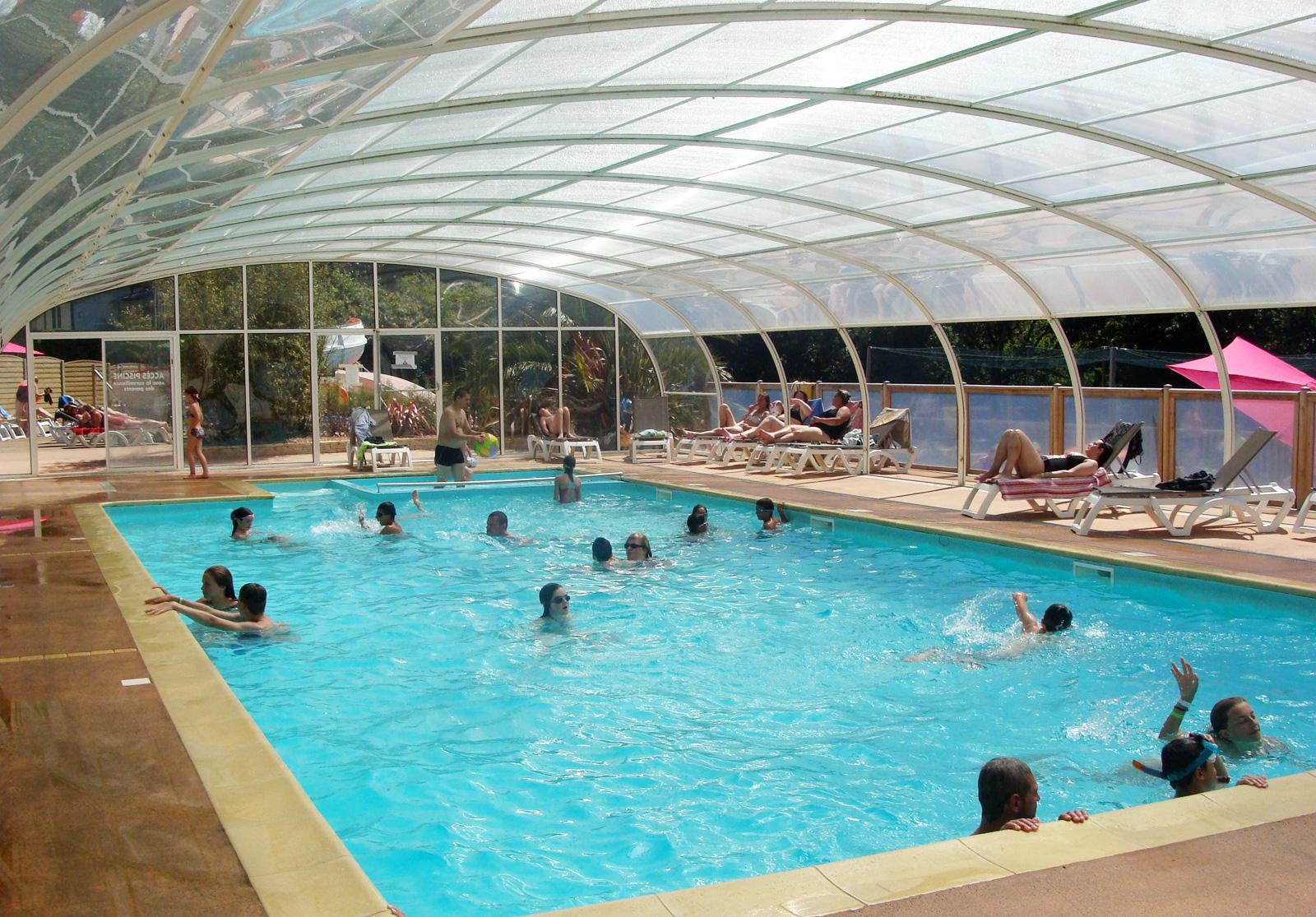 Camping Bretagne Avec Piscine Couverte Chauffée | Camping Le ... pour Piscine Bain De Bretagne