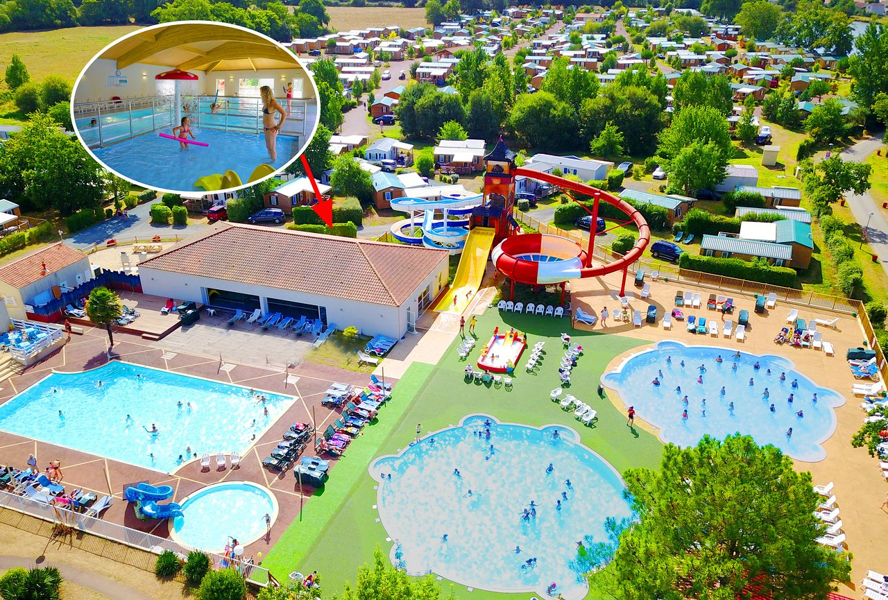 Camping Capfun Les Forges - Campground Reviews (Avrille ... tout Camping Vendée Piscine Couverte