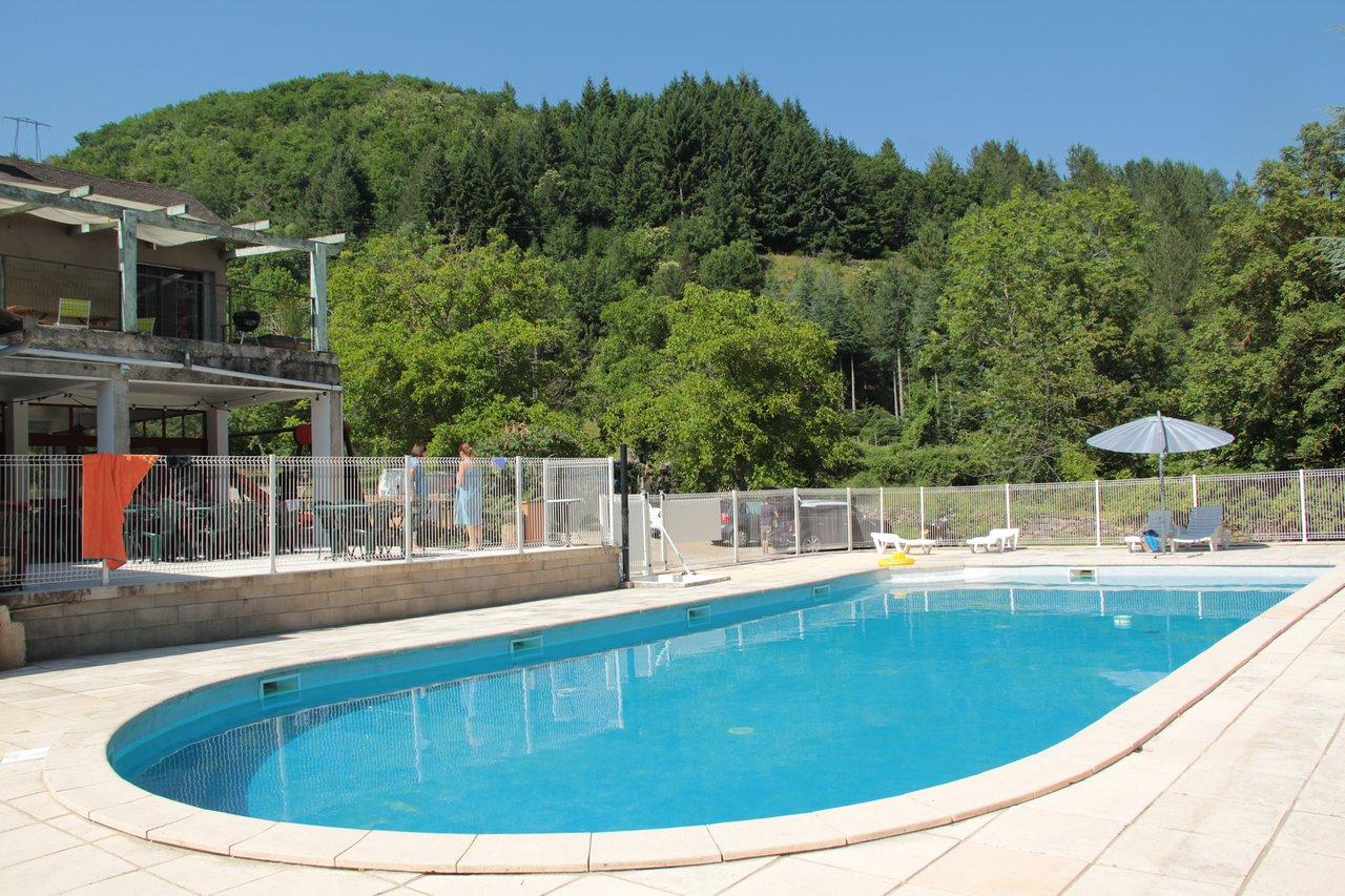 Camping De L'aiguebelle - Prices & Campground Reviews ... dedans Camping Lozère Avec Piscine