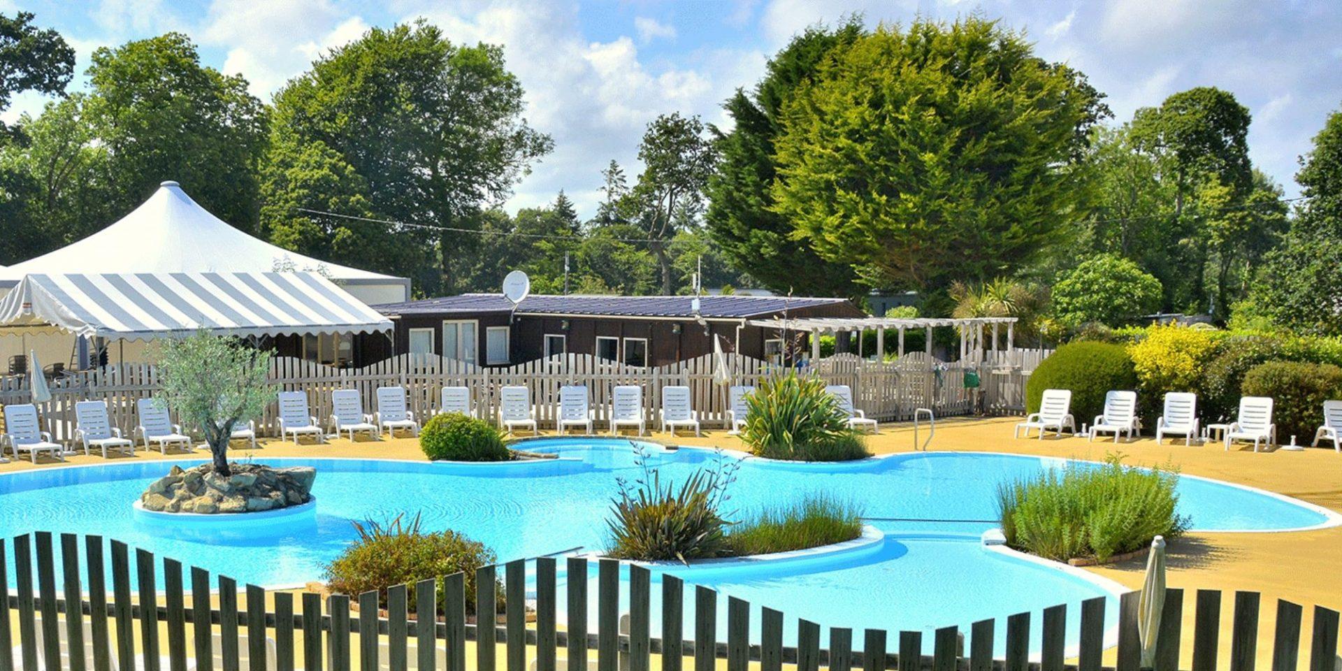 Camping Du Quinquis | Clohars-Carnoët | Finistère Sud Proche ... dedans Piscine Quimperlé