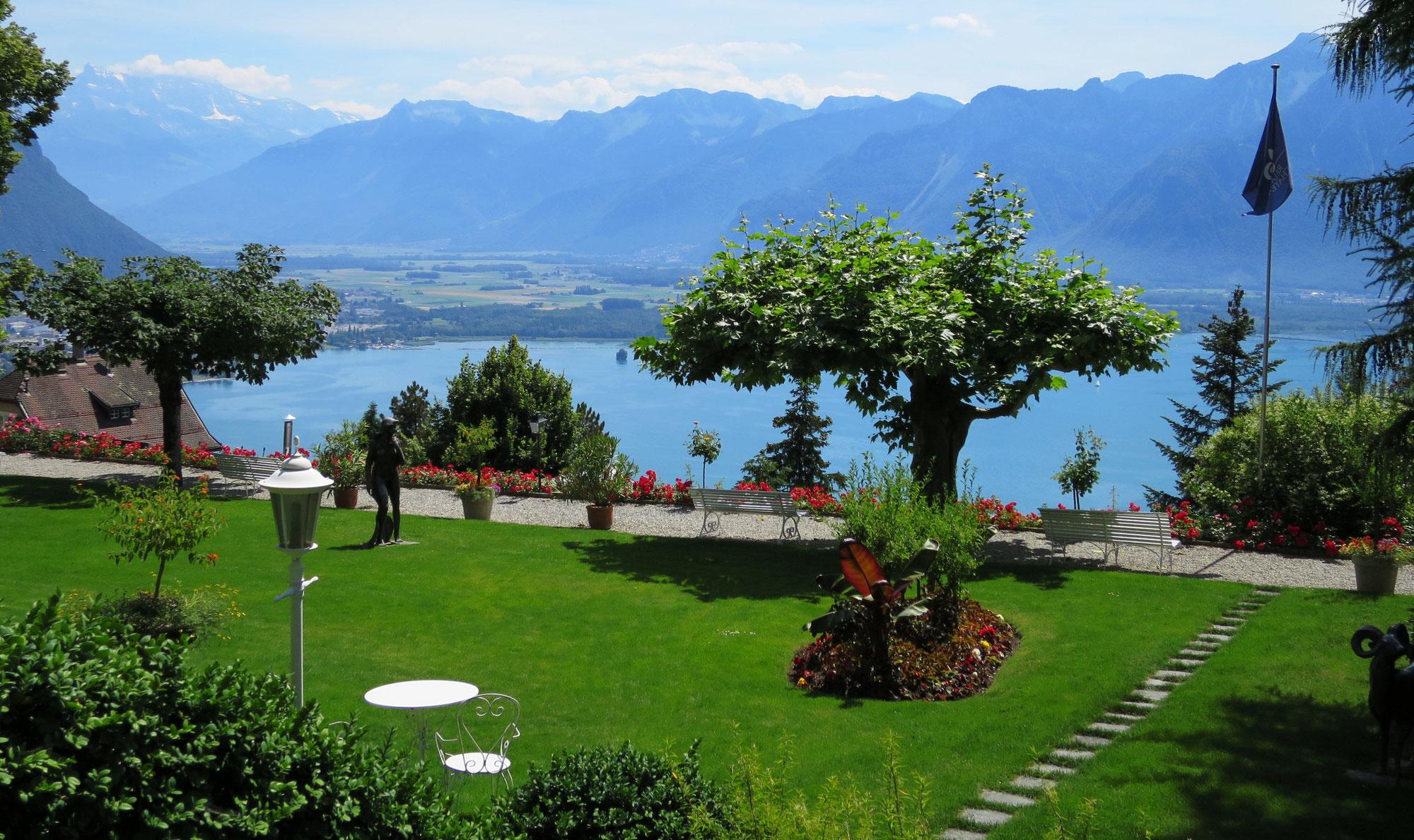 Camping Haute Savoie Au Bord Du Lac Léman Thonon Les Bains ... dedans Camping Lac Léman Avec Piscine