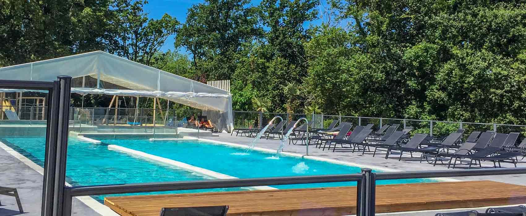 Camping Hendaye | Pays Basque | Camping 4 Étoiles Cote ... pour Camping Mimizan Avec Piscine