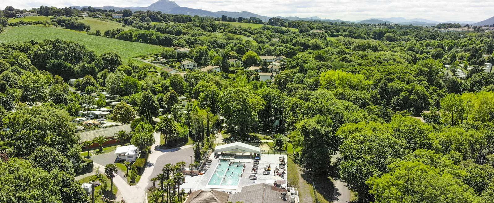 Camping Hendaye | Pays Basque | Camping 4 Étoiles Cote ... serapportantà Camping Pays Basque Piscine Couverte