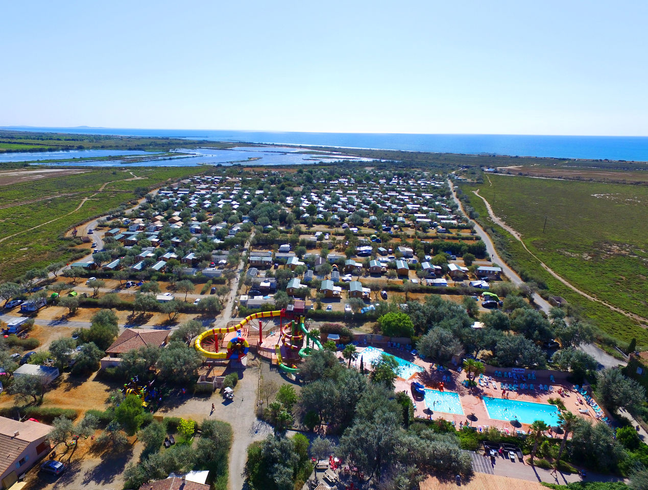 Camping Holidays Grande Cosse, Family Holidays In Fleury D ... serapportantà Piscine Fleury D Aude