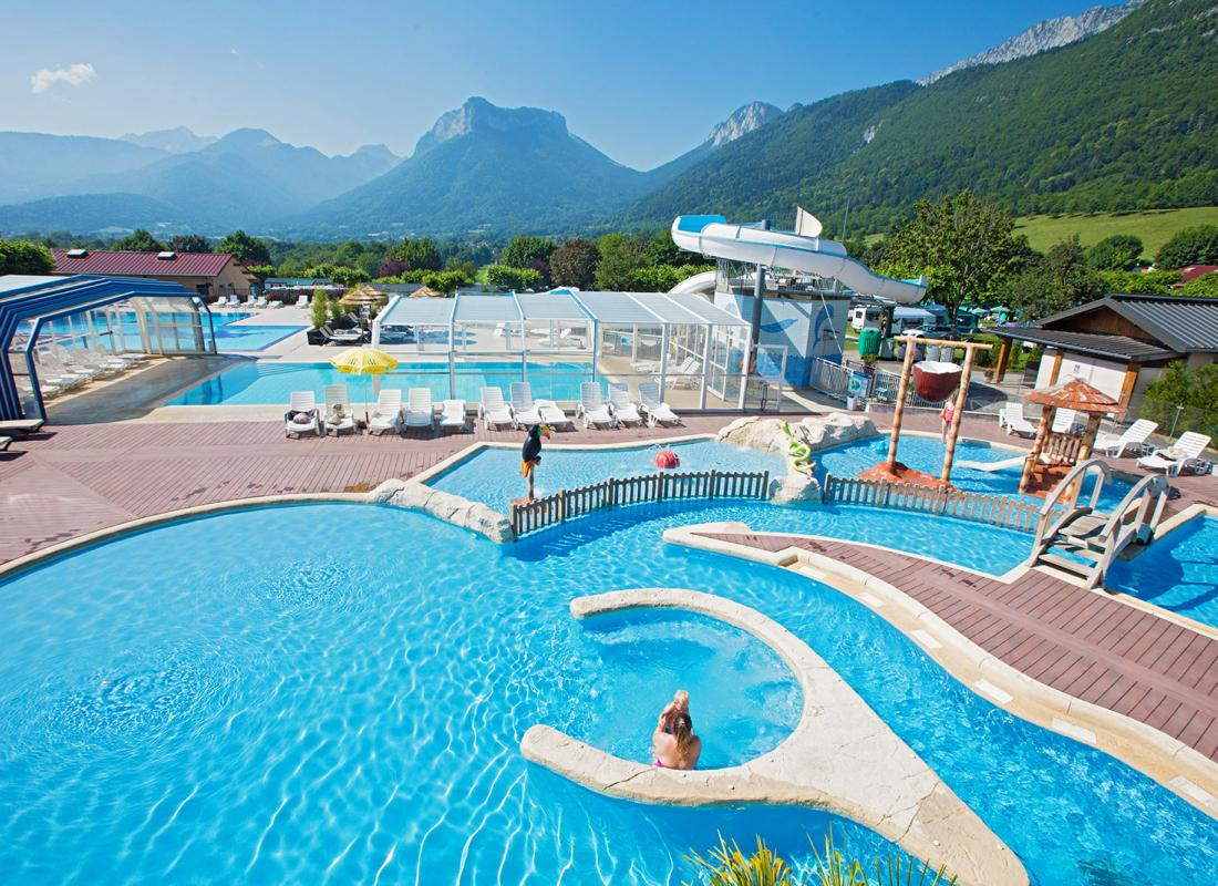 Camping Holidays In Summer In Annecy Lake - Camping Ideal In ... tout Camping Annecy Avec Piscine