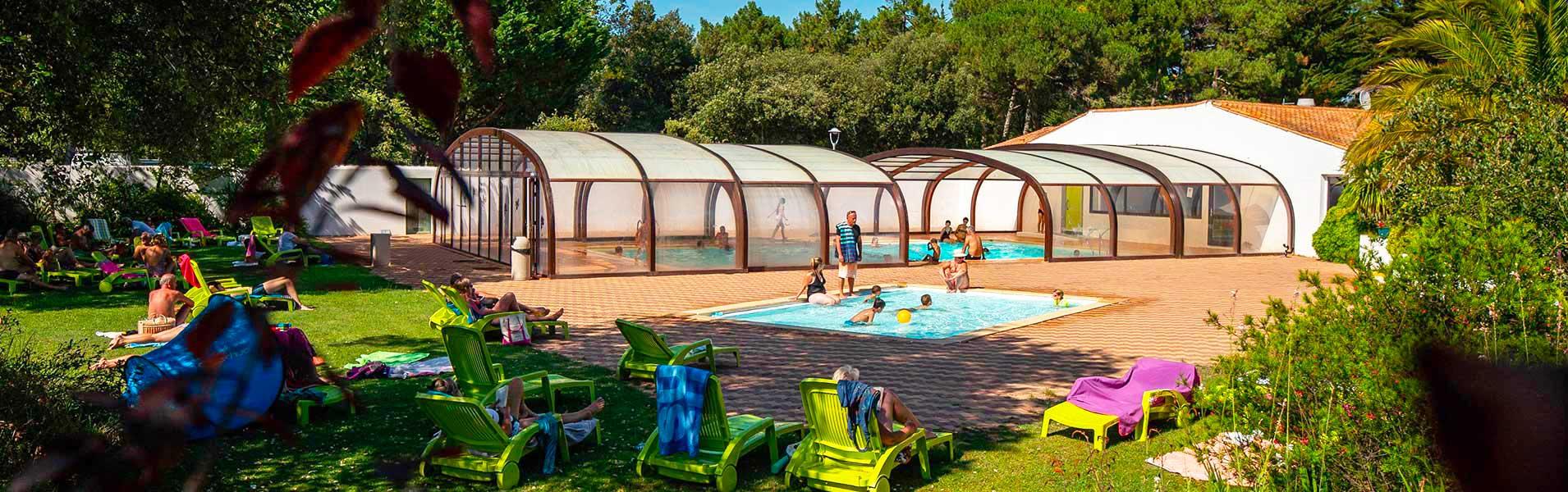 Camping Ile De Ré | La Flotte | 4 Étoiles | Vacances Mobil ... encequiconcerne Camping Ile De Ré Avec Piscine