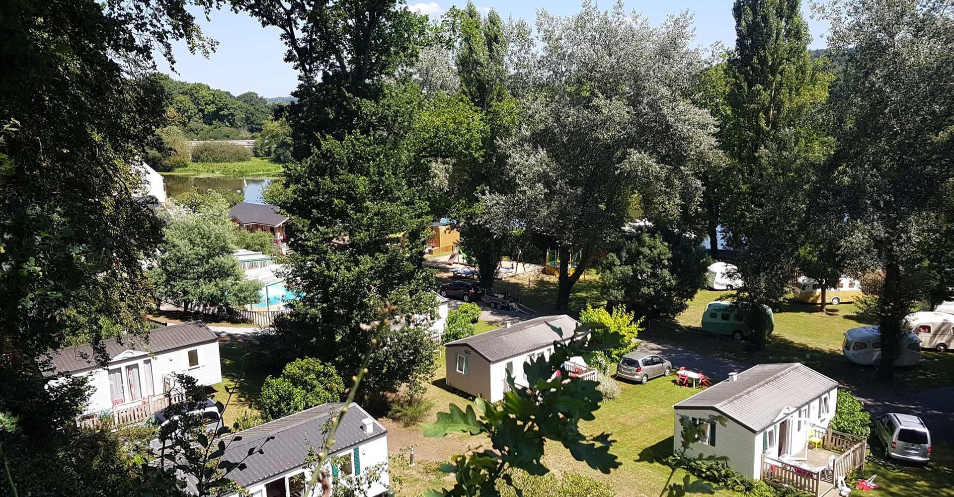 Camping Insolite Et Atypique Morbihan - Canal De Nantes À Brest intérieur Piscine Malestroit