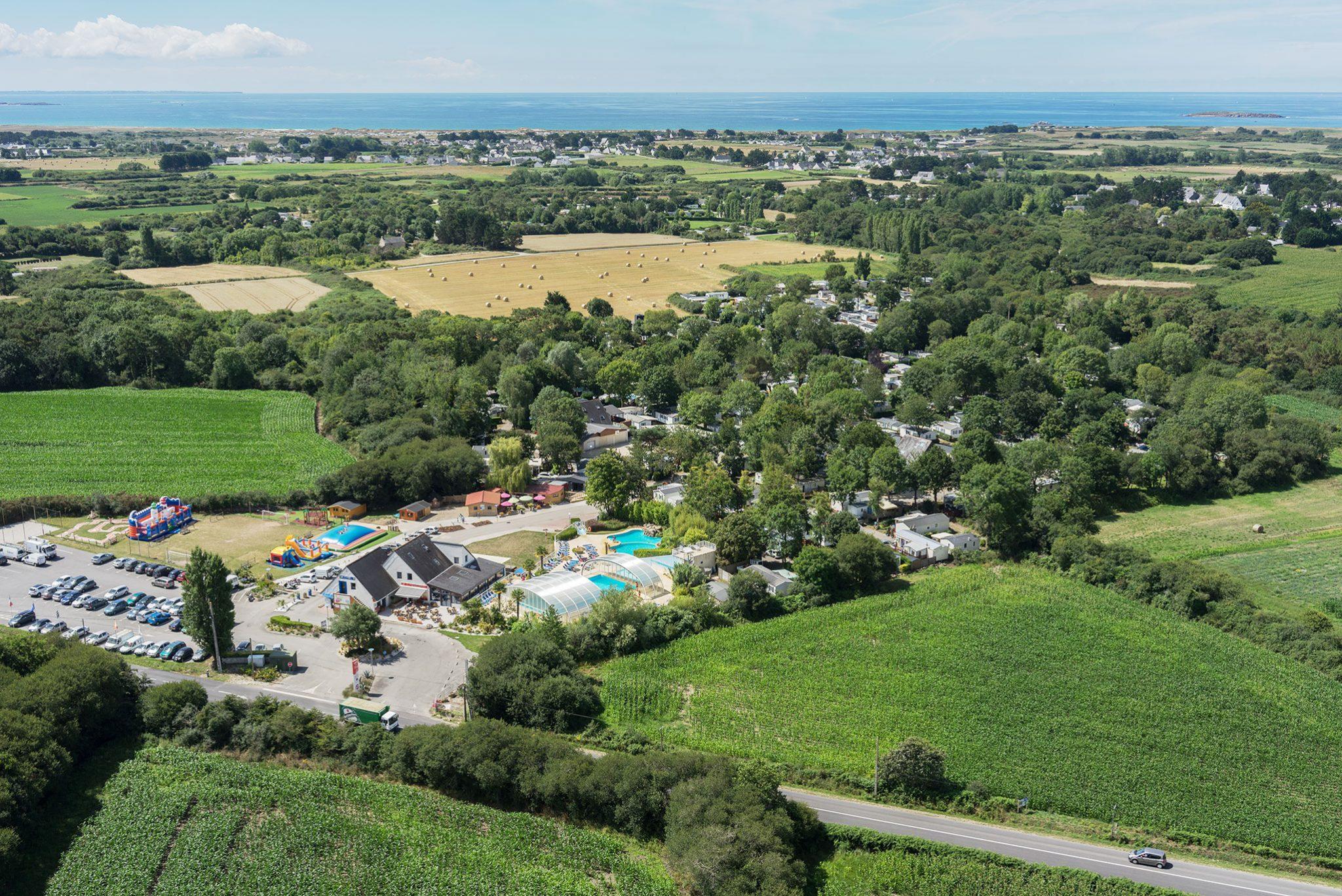 Camping Kerzerho 4 Étoiles | Carnac - Erdeven - Morbihan serapportantà Camping Golf Du Morbihan Avec Piscine
