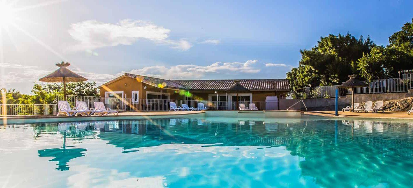 Camping**** La Chapoulière, Ardèche | Camping 4 Stars Ruoms ... intérieur Hotel Ardeche Avec Piscine
