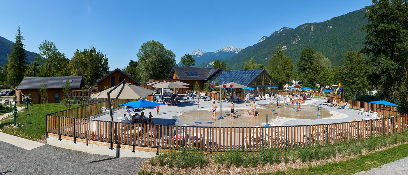 Camping La Nublière Doussard, Lac D'annecy, Haute Savoie ... encequiconcerne Camping Annecy Avec Piscine