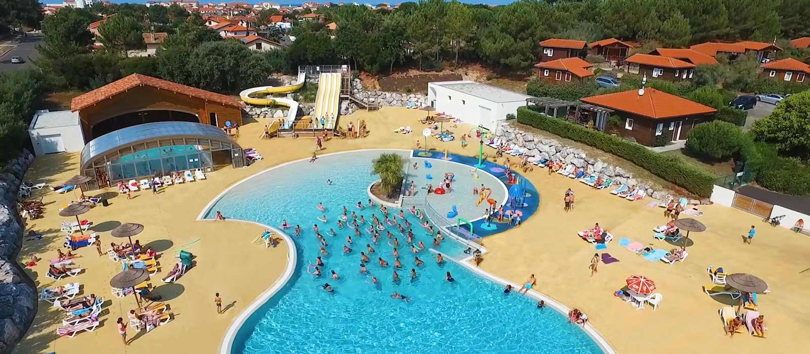 Camping La Plage - Camping Mimizan 4 Stars Seaside With Pool encequiconcerne Camping Mimizan Avec Piscine