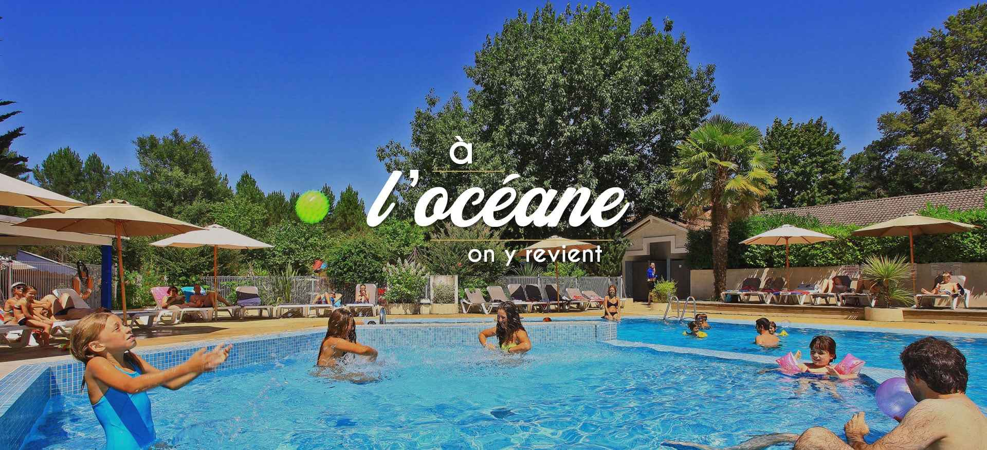 Camping Landes ****, Camping Familial Avec Piscine Chauffée ... tout Camping Landes Avec Piscine