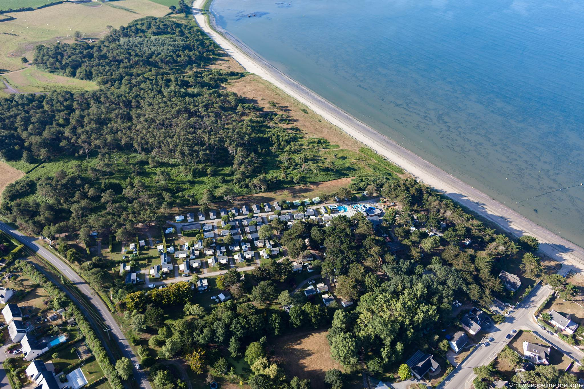 Camping Le Moulin De L'éclis | Campings Dans Le Morbihan ... encequiconcerne Camping Damgan Avec Piscine