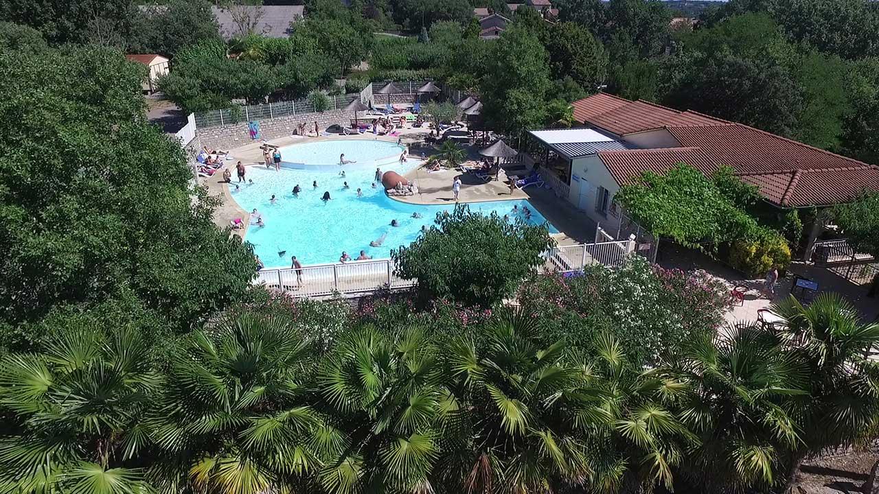 Camping Les Cigales En Ardéche Méridionale : Camping Situé ... encequiconcerne Camping En Ardèche Avec Piscine