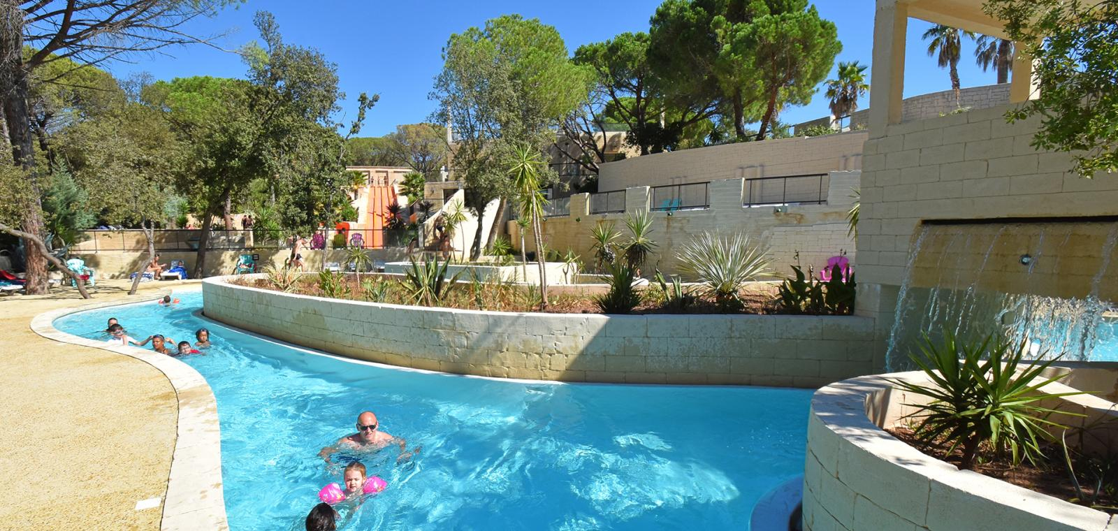 Camping Les Cigales In Le Muy, 4 Stars, Var, French Riviera encequiconcerne Camping Var Avec Piscine
