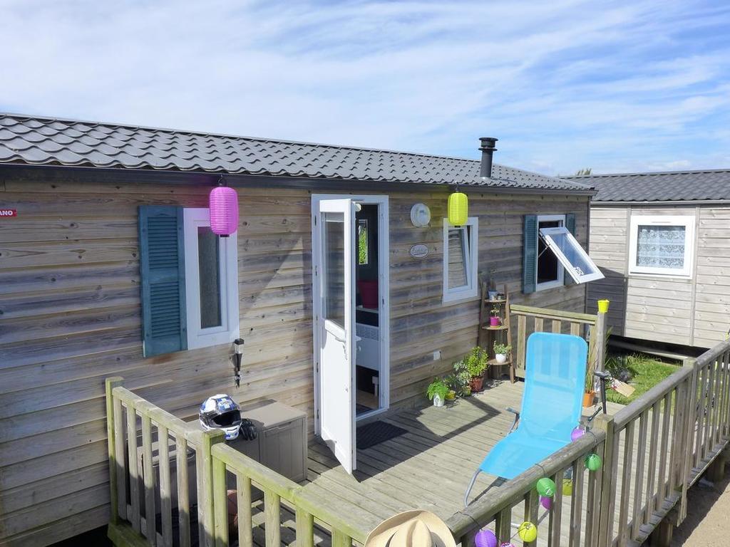 Camping Les Hauts Port Blanc - Penvénan > 6 Mobil Homes Dès ... serapportantà Camping Cote D Armor Avec Piscine Couverte