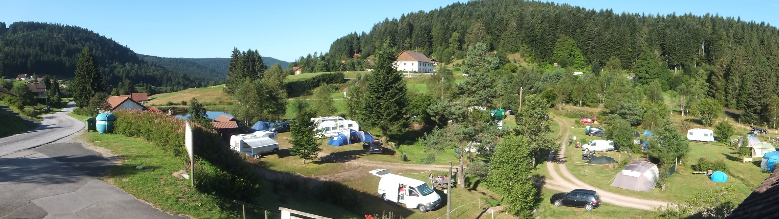Camping Les Myrtilles, Camping Calme Et Familial À Gerardmer ... serapportantà Camping Gérardmer Avec Piscine