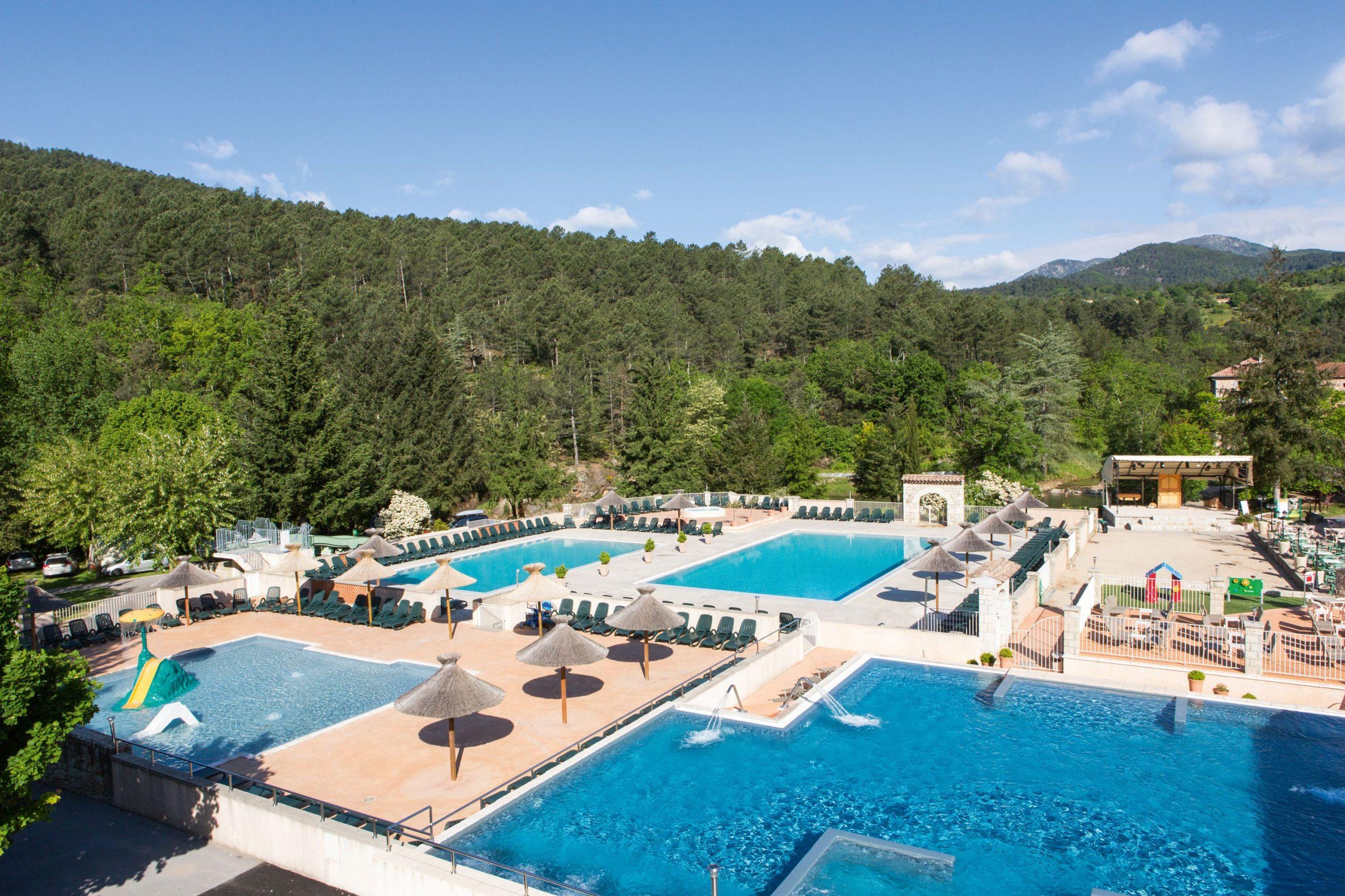 Camping Les Ranchisses | Campagne | Camping Ardèche, Camping ... serapportantà Camping Ardèche Avec Piscine