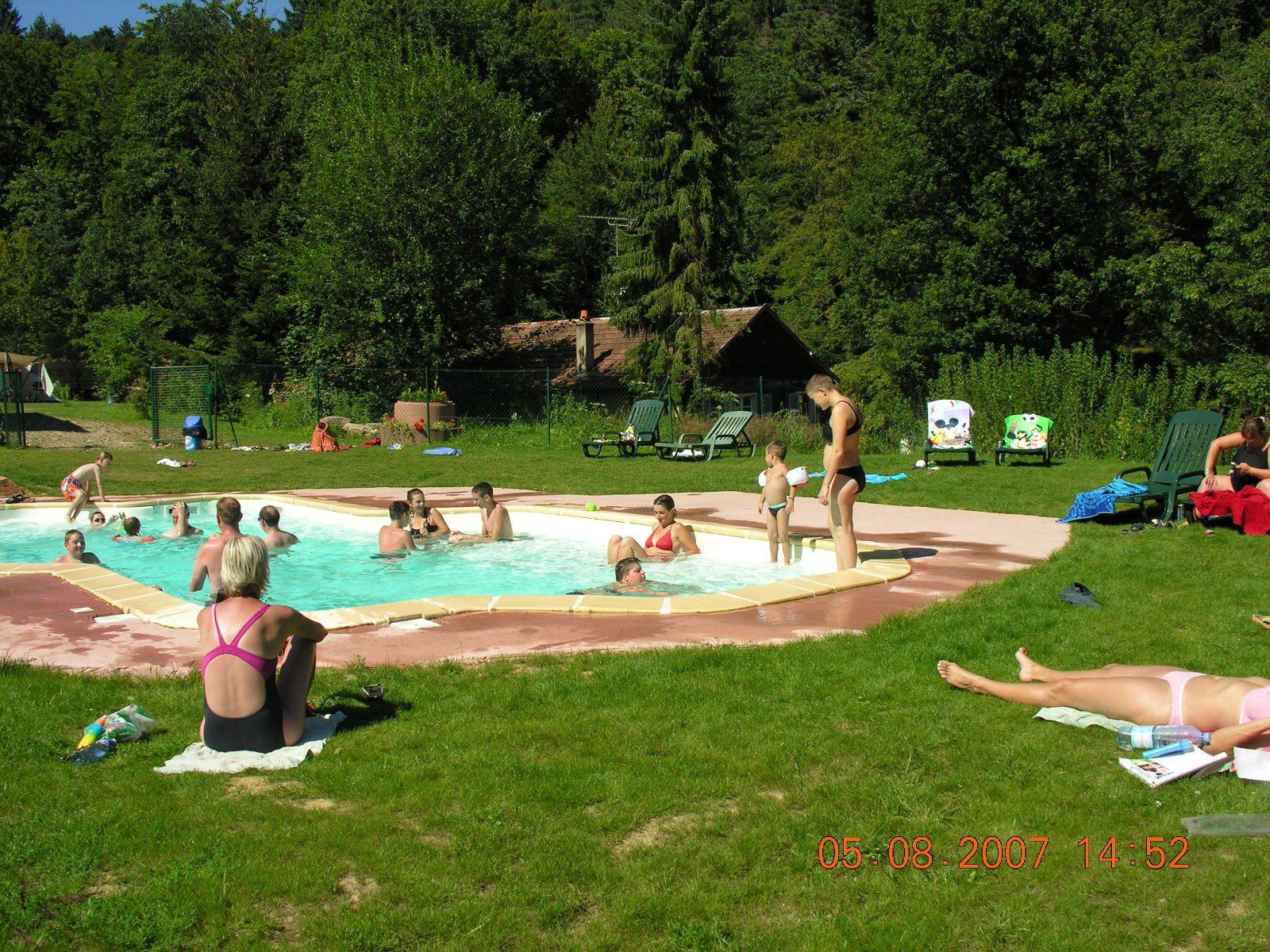 Camping 'les Reflets Du Mont Sainte Odile' - Barr | Visit Alsace avec Camping Alsace Piscine