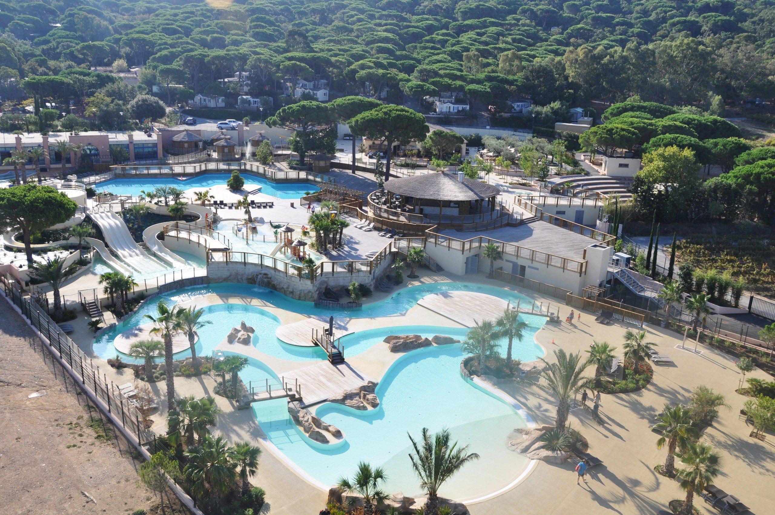 Camping***** Les Tournels - Ramatuelle #camping #piscine ... dedans Camping Quiberon Piscine