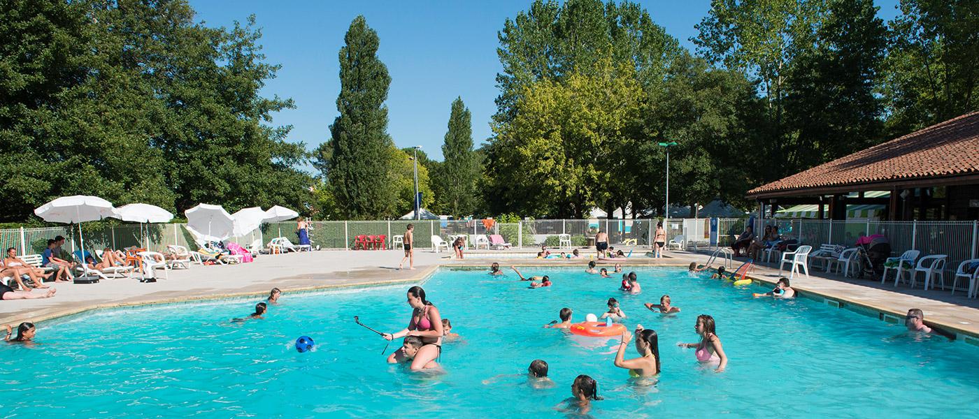 Camping L'etang Blanc In Seignosse,france | Campéole destiné Piscine Bassemberg