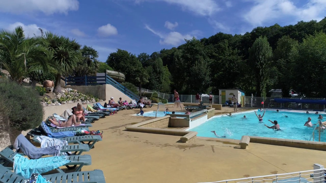 Camping Morbihan Piscine - Camping Bretagne Sud - ᐃ Moulin ... à Camping Damgan Avec Piscine