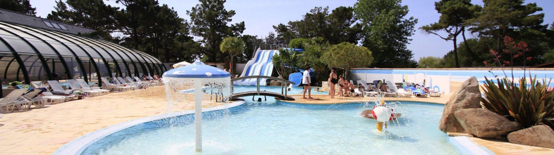 Camping Morbihan Piscine Couverte | Camping Le Moteno En ... dedans Camping Golf Du Morbihan Avec Piscine