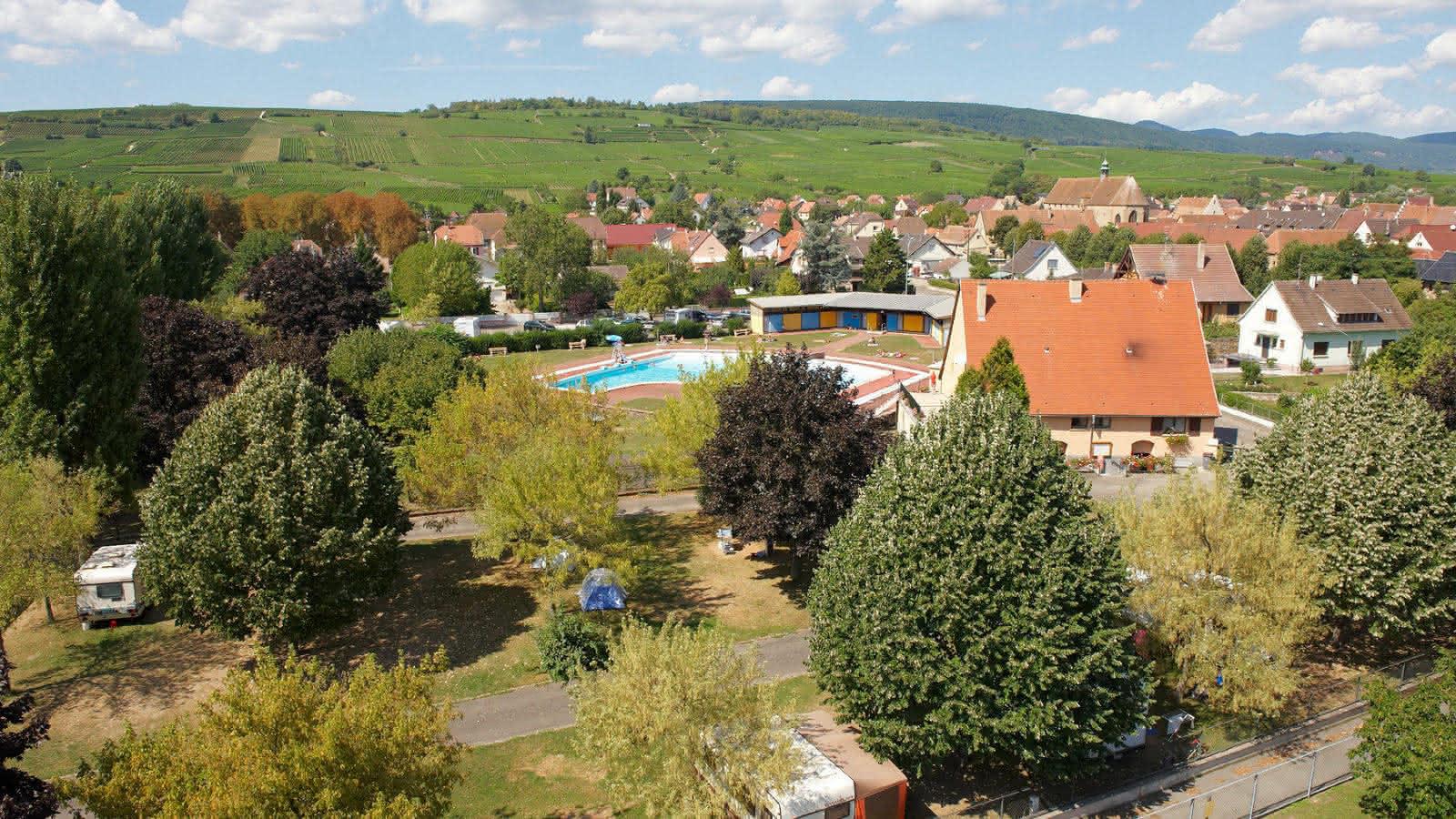 Camping Municipal De Rouffach - Rouffach | Visit Alsace tout Piscine Rouffach