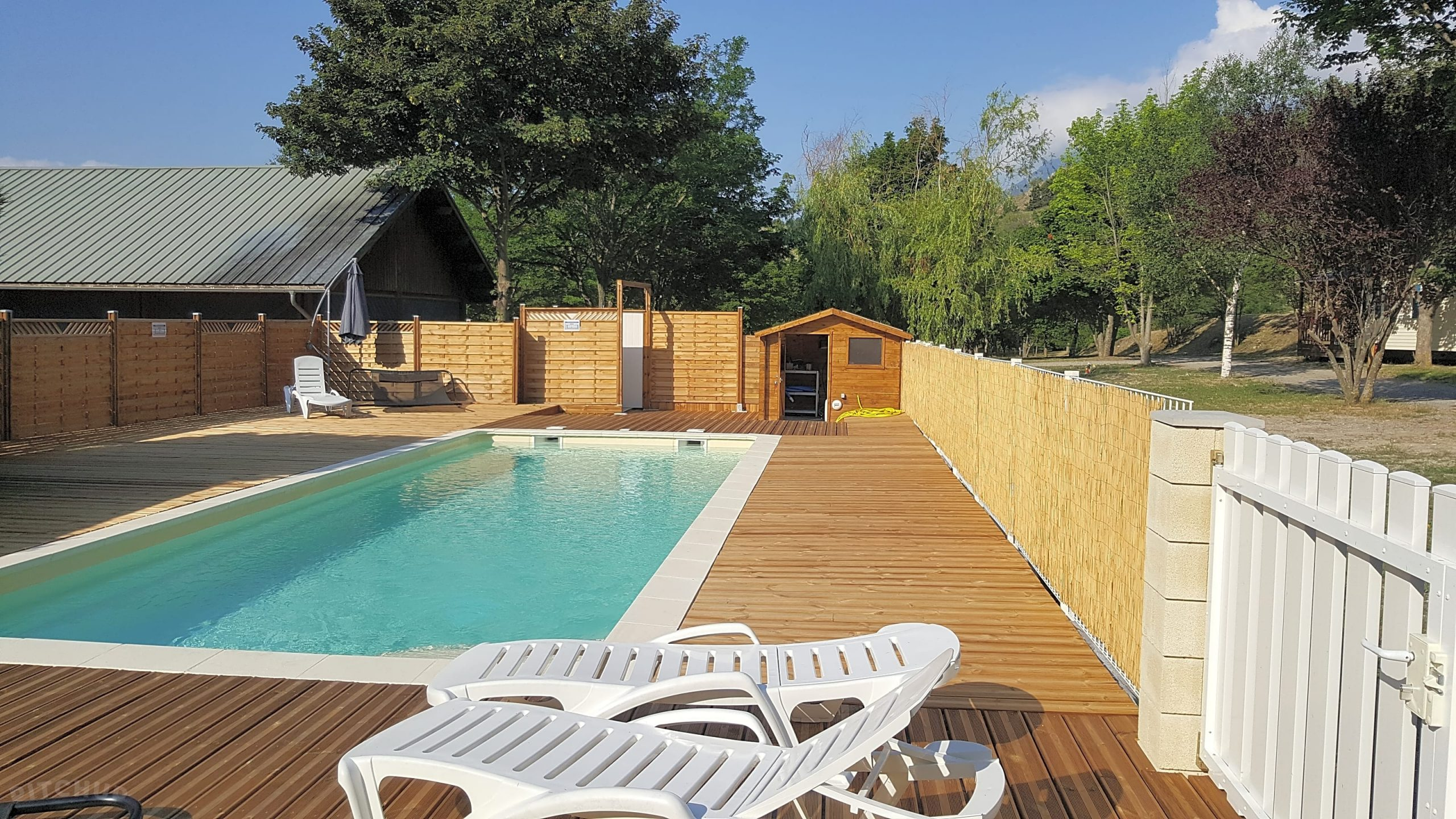 Camping New Rabioux, Châteauroux-Les-Alpes - Updated 2020 ... dedans Piscine 10X5