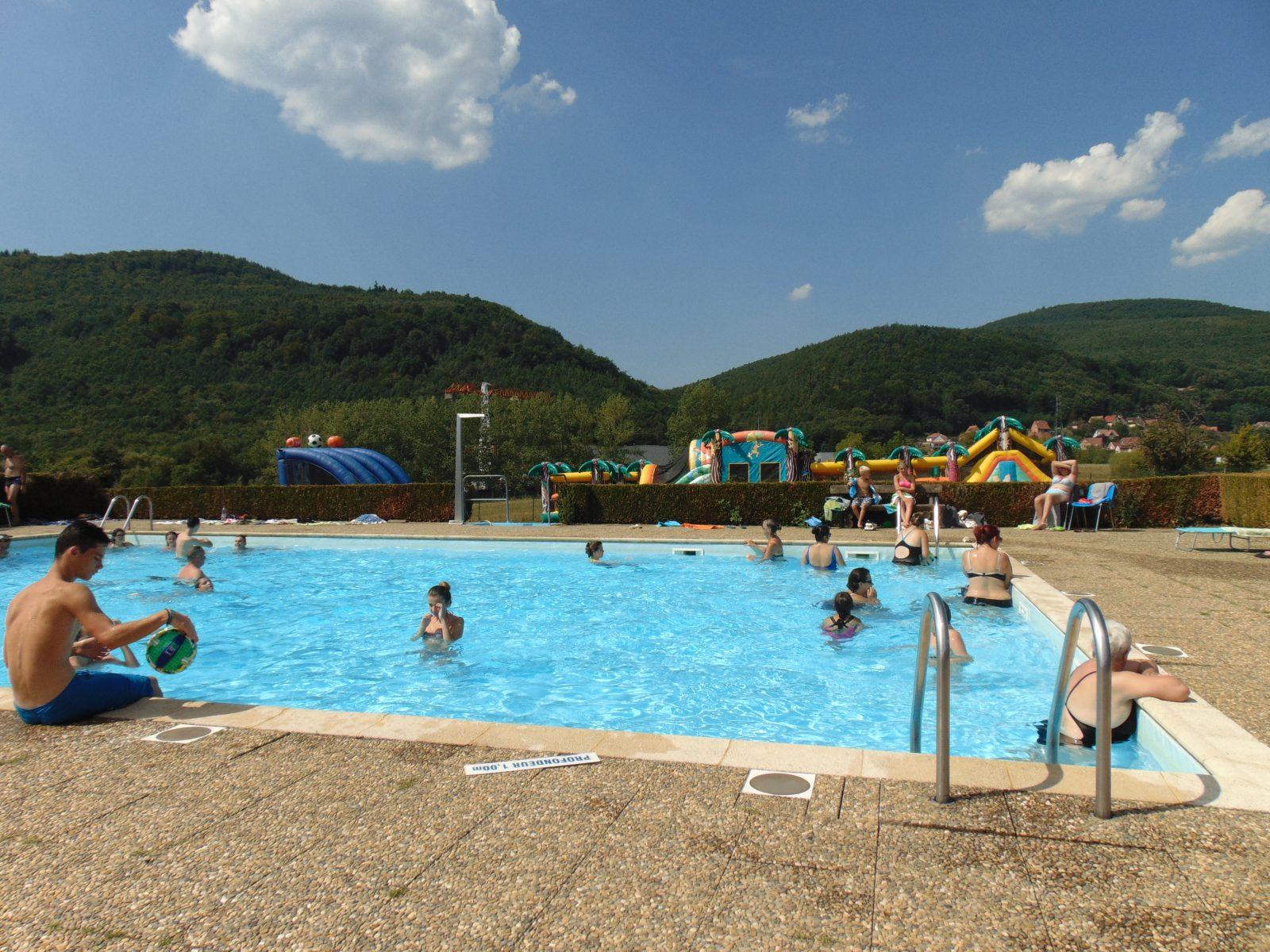 Camping Oasis - Au Coeur Du Parc Régional Des Vosges Du Nord ... dedans Camping Alsace Piscine