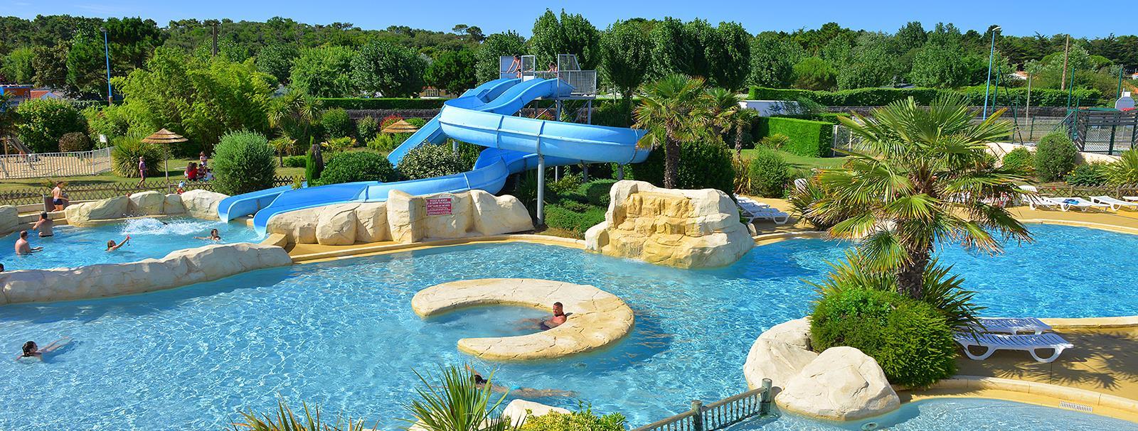 Camping Parc Aquatique Boufféré - Camping 4 Étoiles Les ... pour Piscine Boufféré