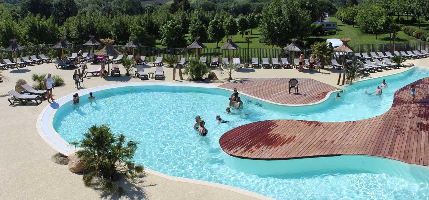 Camping Pays Basque Avec Parc Aquatique - Camping Eskualduna ... intérieur Camping Pays Basque Avec Piscine
