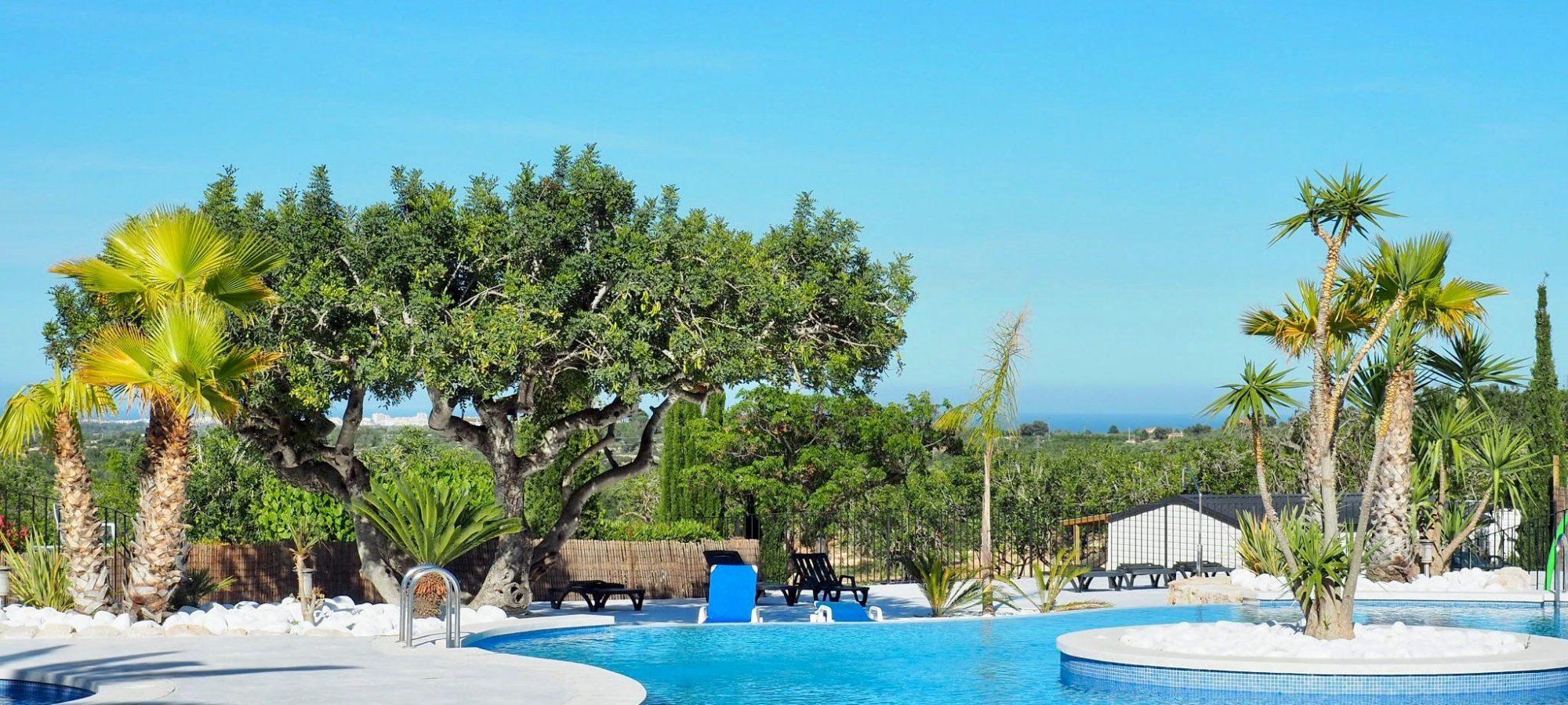Camping Peniscola | Camping L'orangeraie 3 Étoiles Calig Espagne intérieur Camping Bord De Mer Mediterranee Avec Piscine