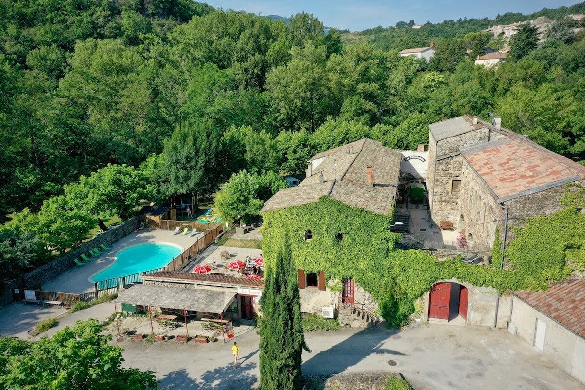 Camping Privas En Ardèche | Le Moulin D'onclairecamping Ardeche avec Camping Ardèche Avec Piscine